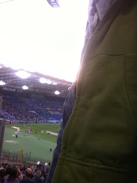 JP allo stadio Olimpico
