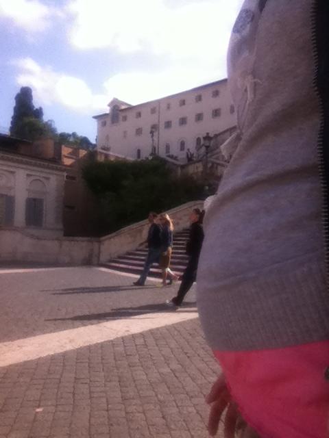 JP a Piazza di Spagna