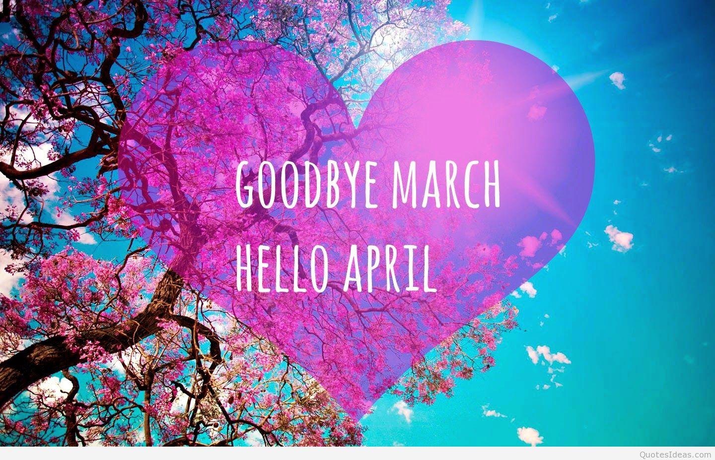 good-march-hello-april-5