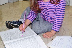 bambini e lo studio