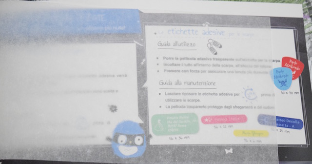carta protettiva per etichette termoadesive