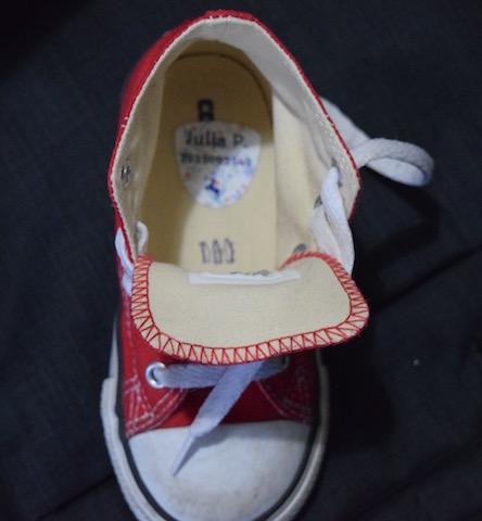 Petit Fernand etichetta adesiva per scarpe