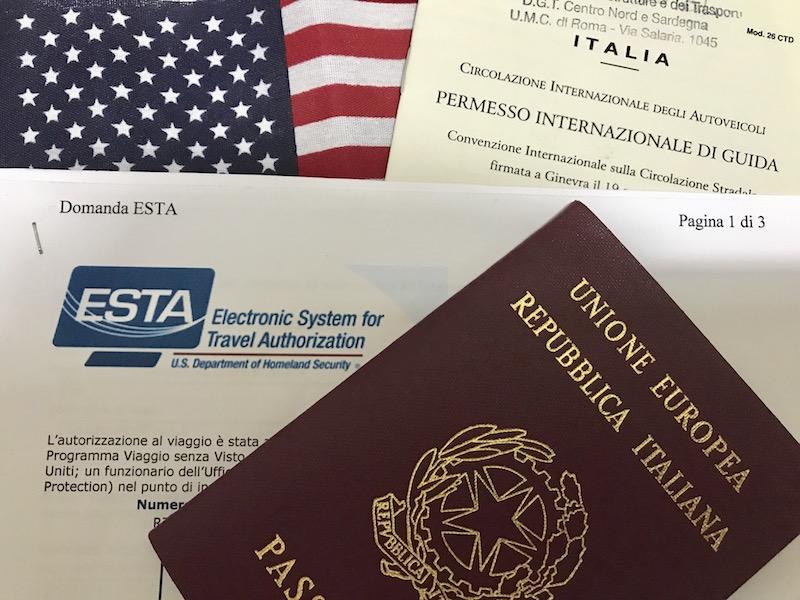 Documenti necessari per viaggiare negli USA