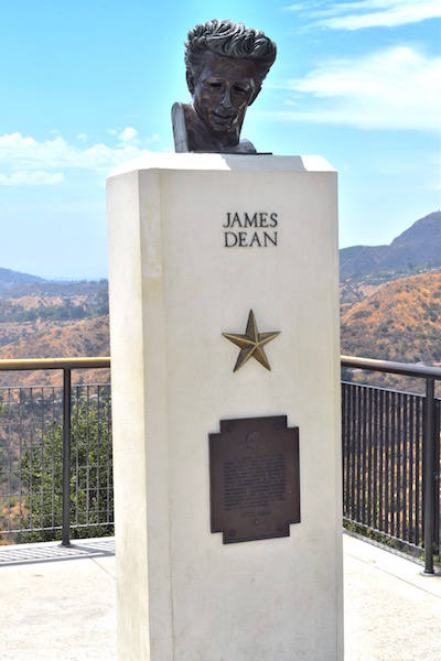 LA James Dean statua