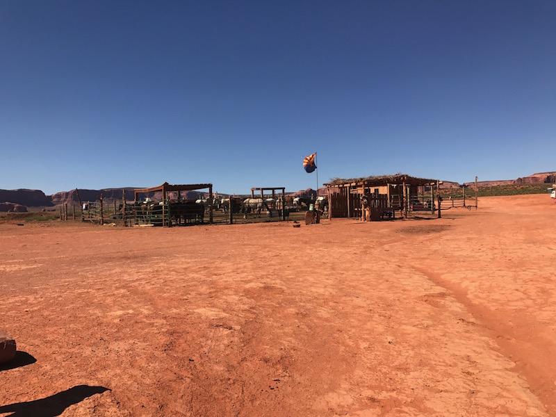 Monument Valley a cavallo