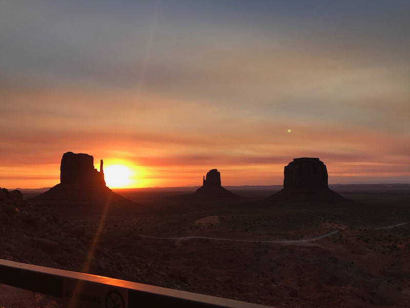 Monument Valley dal The View