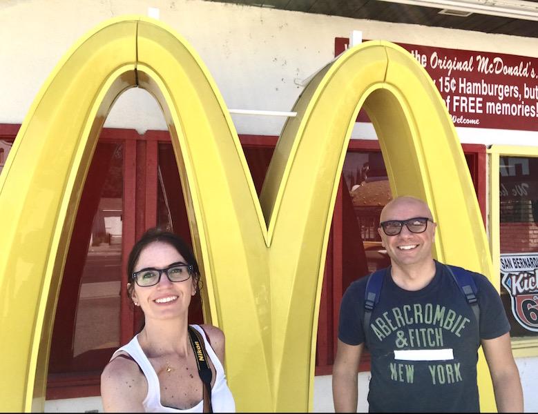 Primo Mc Donald's a San Bernardino
