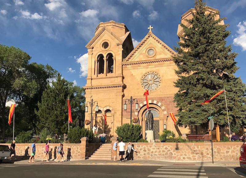 Santa Fe Basilica San Francesco d'Assisi.