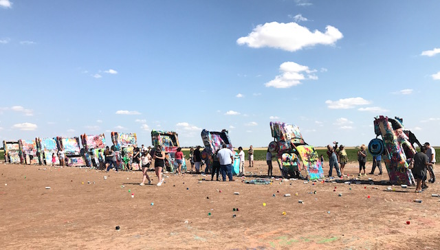 Cadillac Ranch..