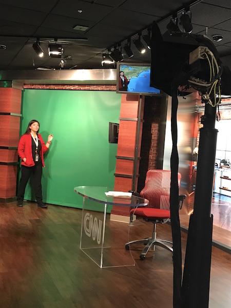 Atlanta CNN studio per il meteo