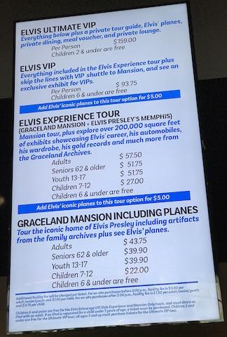 Memphis Casa Elvis prezzi tour