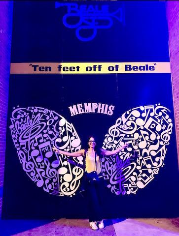 Memphis - Ten feet off of Beale