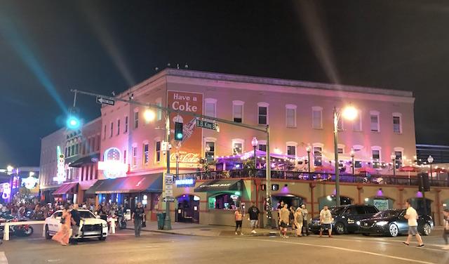 Memphis by night.