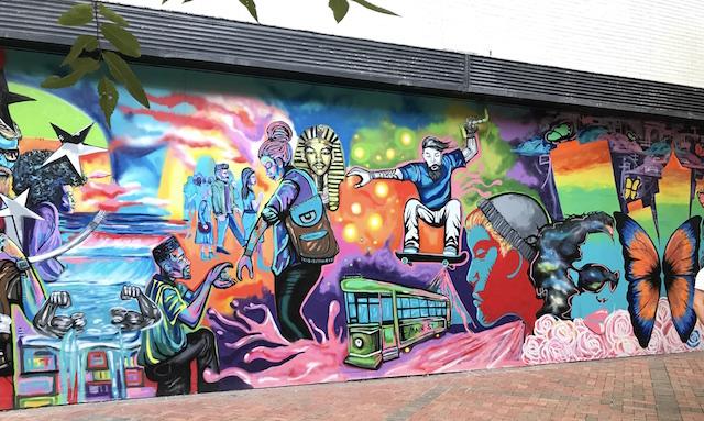 Memphis murales.