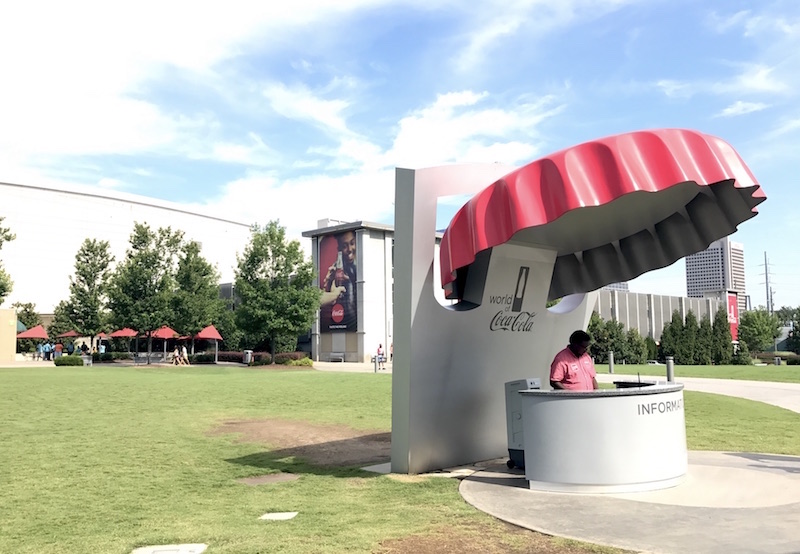 World of Coca Cola information