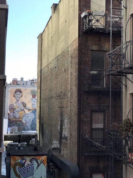 High Line Scorci