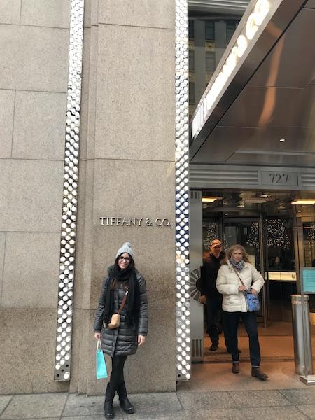 NY Shopping da Tiffany