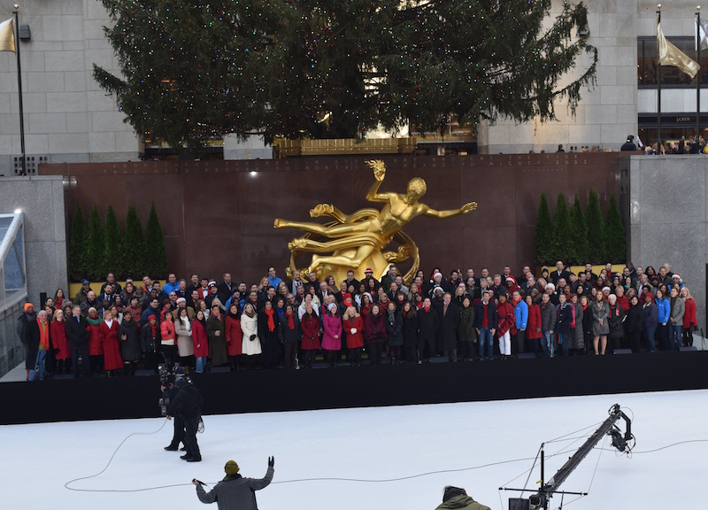 Rockefeller Center Coro