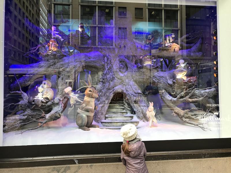 Vetrine natalizie a NY