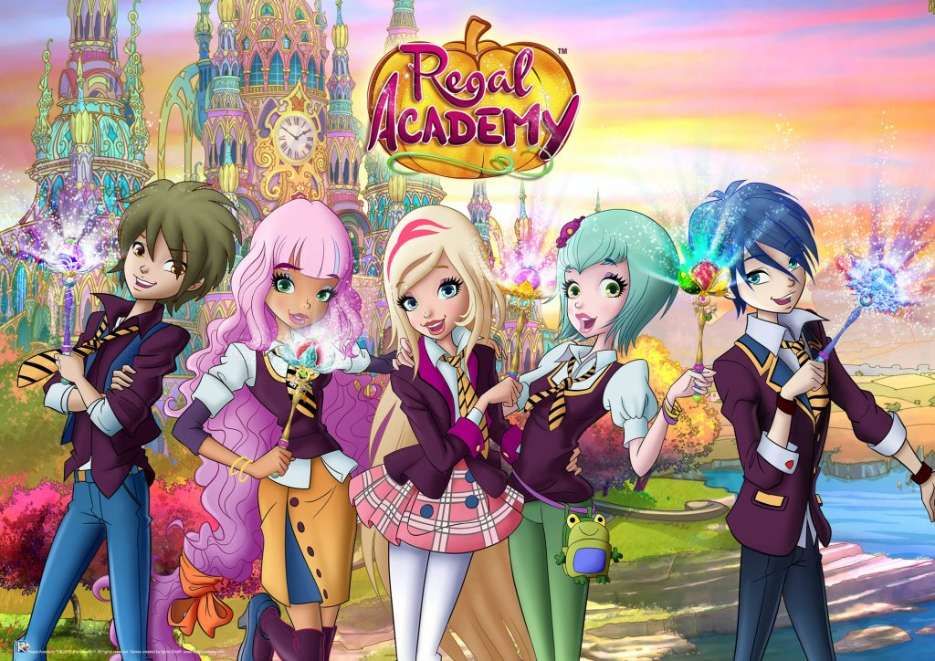 The Alpha Group US LLC-Regal Academy Returns to Nickelodeon- Con