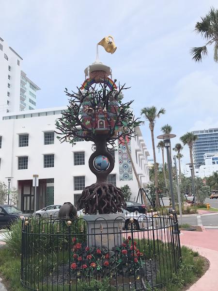 Miami statua