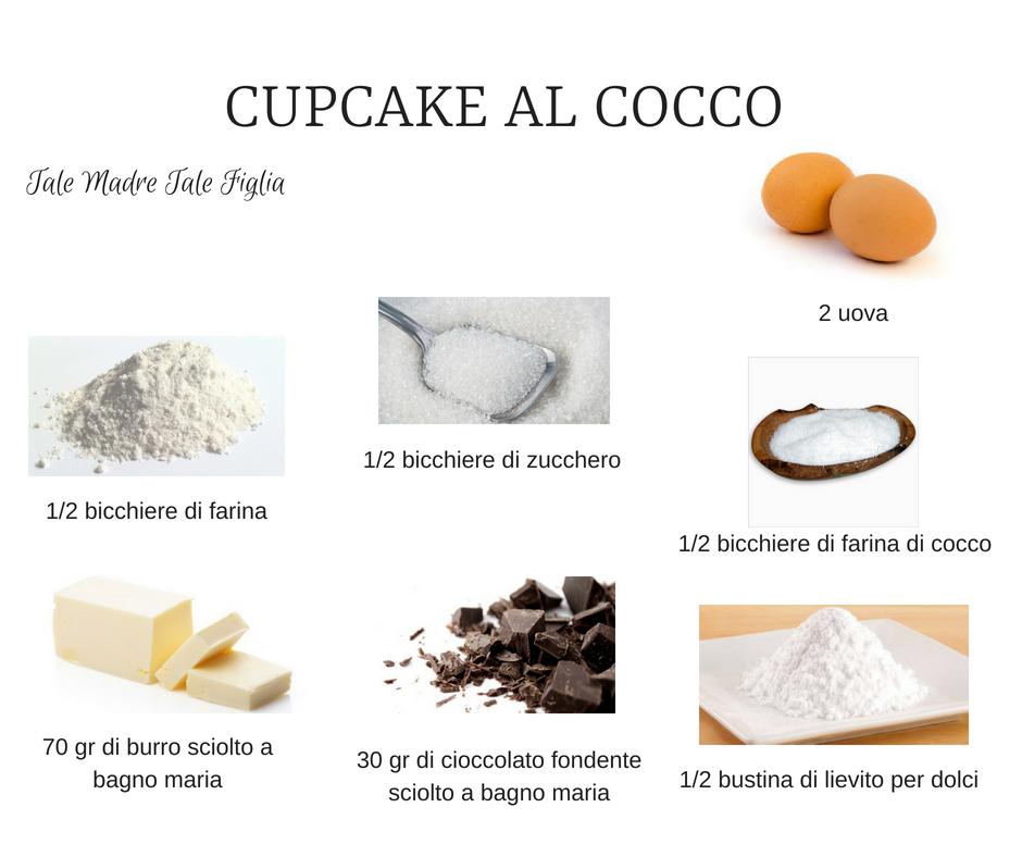 Cupcake al cocco TMTF