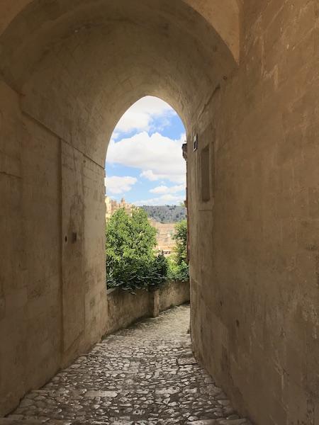 Matera Arco View