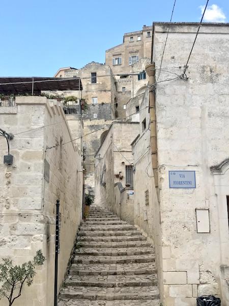 Matera Via Fiorentini