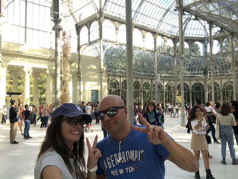 Madrid Palazzo di Cristallo
