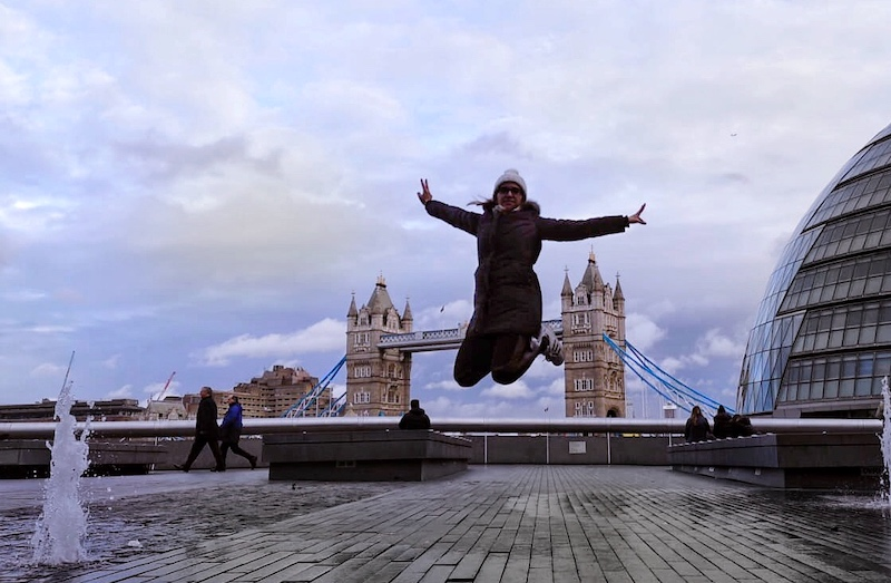 London Tower Bridge Jump