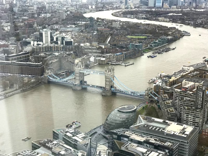 Londra+Tower+Bridge+dal+The+Shade