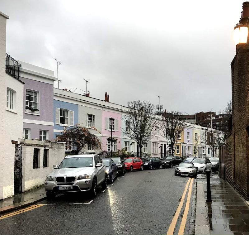 Londra+case+colorate