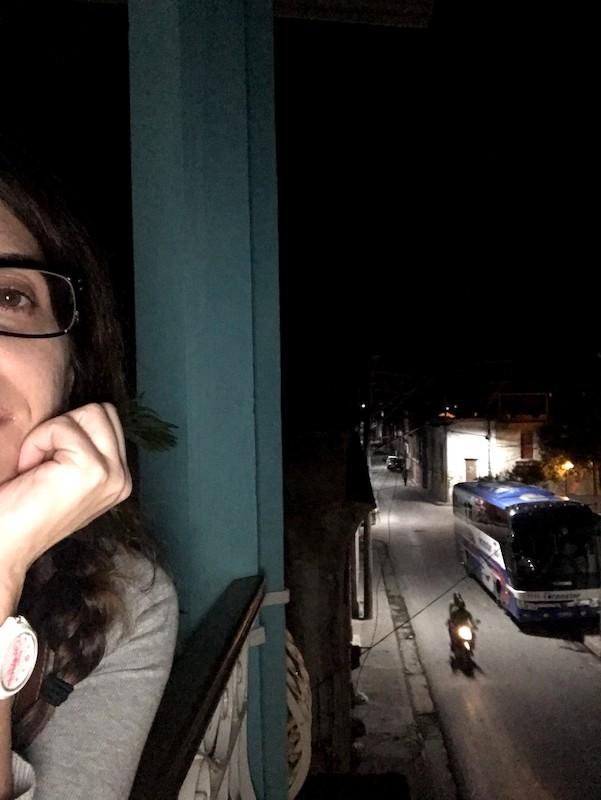 Santiago de Cuba by night